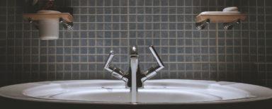 Remodelled Tiled Bathroom Sink